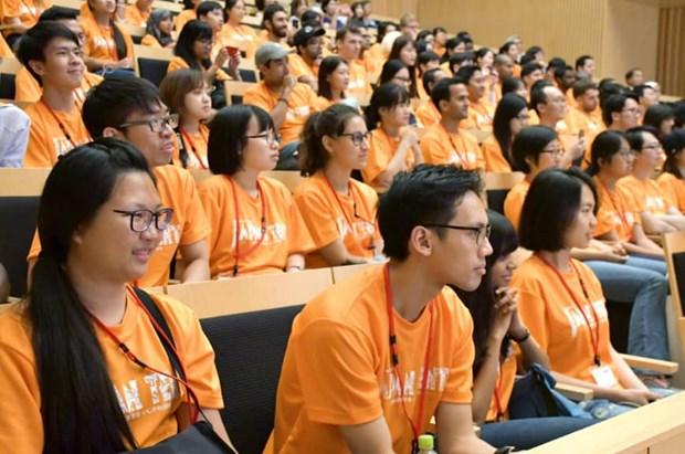 Plus de 5.200 etudiants vietnamiens sont entres sur le marche du travail japonais en 2018 hinh anh 1