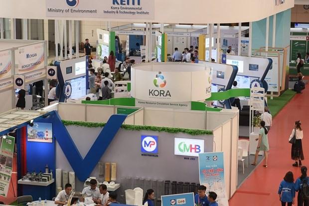 Ouverture de la Foire-expo internationale des technologies de l'environnement 2019 hinh anh 1