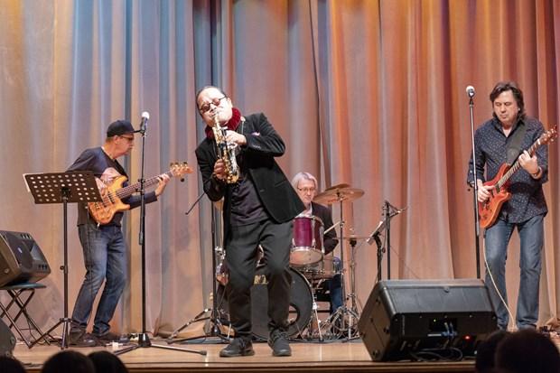Concert de jazz Russie-Vietnam a Moscou hinh anh 1