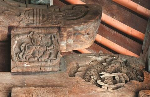 La maison commune de Tay Ðang, un tresor memoriel a Hanoi hinh anh 2