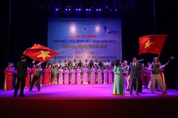 Festival des melodies de paix et d'amitie 2019 organise a Hanoi hinh anh 1