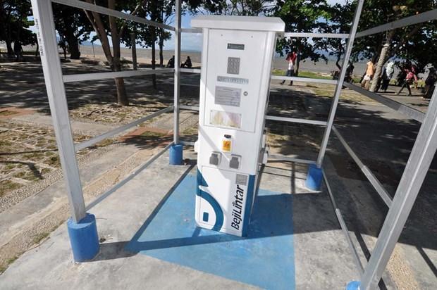 L'Indonesie investit grandement dans l'installation de bornes de recharge pour vehicules electriques hinh anh 1