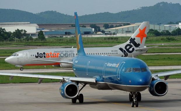 Vietnam Airlines et Jetstar Pacific modifient les horaires des vols a cause du typhon Matmo hinh anh 1