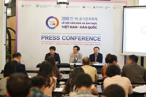 Bientot le Festival culturel et gastronomique Vietnam-R. de Coree 2019 a Hanoi hinh anh 1