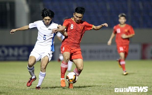 Le Vietnam qualifie pour la finale du Tournoi international de football des moins de 21 ans 2019 hinh anh 1