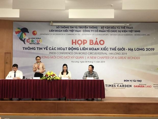 Quang Ninh accueillera le Festival mondial du cirque 2019 hinh anh 1
