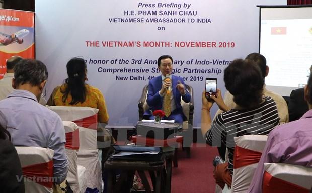 """Le """"Mois du Vietnam"""" en Inde comprend de nombreuses activites hinh anh 1"""
