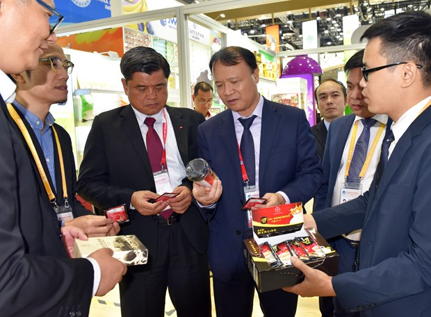 Le Vietnam participe a l'Exposition Internationale pour l'Import des produits etrangers en Chine hinh anh 2