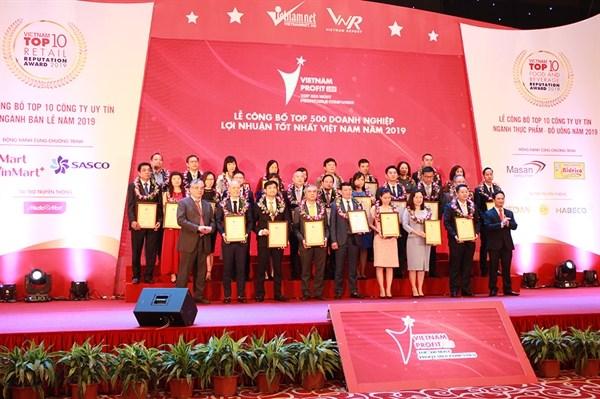 Publication de la liste 2019 des 500 entreprises du Vietnam aux plus grands profits hinh anh 1