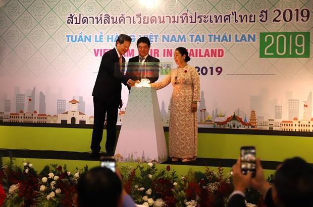 Une semaine des produits vietnamiens s'ouvre en Thailande hinh anh 1