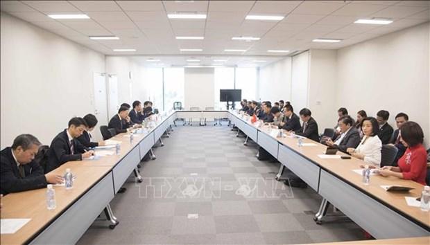 Dialogue de cooperation economique entre le Vietnam et le Japon a Tokyo hinh anh 1