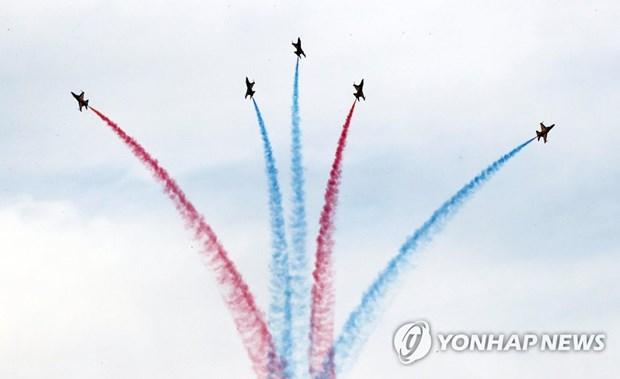 Ceremonie de bienvenue a Busan pour le Sommet special Republique de Coree – ASEAN hinh anh 1