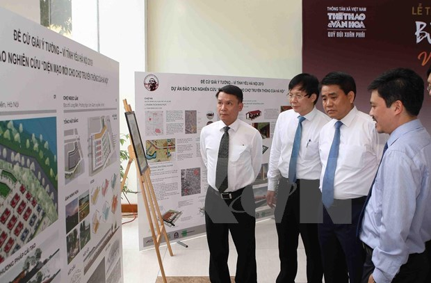 Prix « Bui Xuan Phai » : Recompenser l'idee de faire revivre la riviere To Lich hinh anh 4