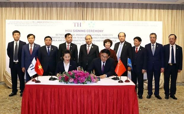 Premier lot de produits laitiers vietnamiens exporte vers la Chine hinh anh 2