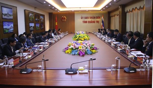 Quang Tri et la province thailandaise d'Ubon Ratchathani renforcent leur cooperation hinh anh 1