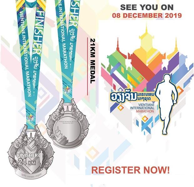 Plus de 4.000 coureurs participeront au Vientiane International Marathon 2019 hinh anh 1