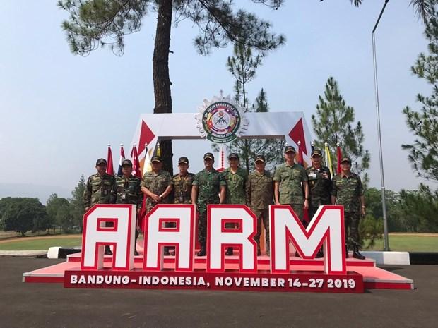 Le Vietnam se classe au 3e rang du 29e Tournoi de tir des armees de l'ASEAN hinh anh 1