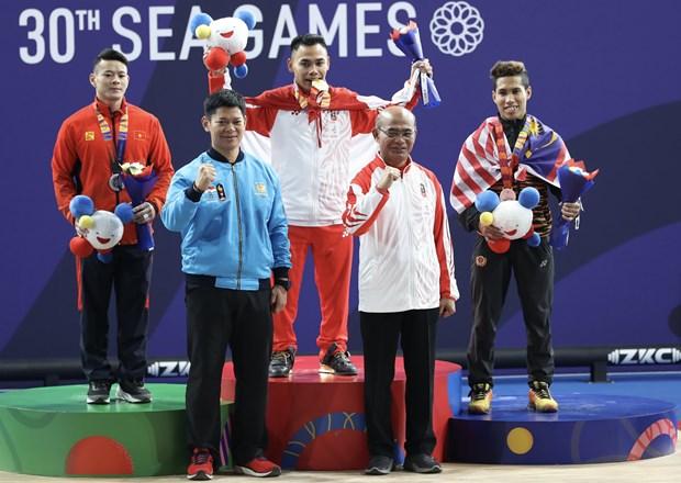 SEA Games: quatre medailles d'argent et cinq de bronze pour le Vietnam hinh anh 1