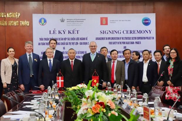 Le Danemark aide le Vietnam a gerer la securite sanitaire des aliments hinh anh 1