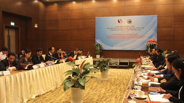 Vietnam et Laos signent un memorandum d'accord sur la cooperation dans l'archivage hinh anh 1