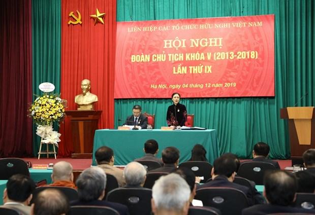 Environ 700 delegues participeront au 6e Congres de l'Union des organisations d'amitie du Vietnam hinh anh 1