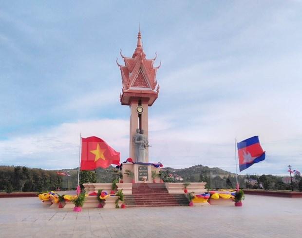 Le Vietnam et le Cambodge cooperent dans la restauration des monuments d'amitie hinh anh 1
