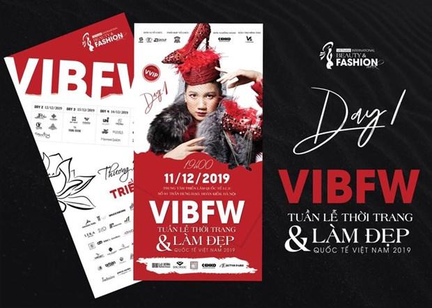 Ouverture de la Semaine internationale de la beaute et de la mode du Vietnam 2019 hinh anh 1