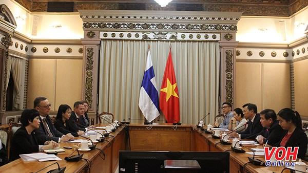 Ho Chi Minh-Ville et la Finlande renforcent leur cooperation dans plusieurs domaines hinh anh 1