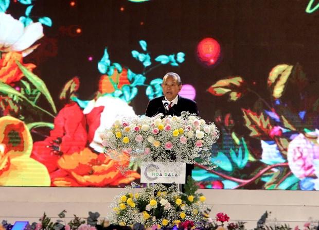 Ouverture du Festival des fleurs de Da Lat 2019 hinh anh 2