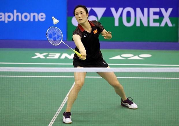 Badminton : Vu Thi Trang remporte le tournoi Graphics International Challenge 2019 hinh anh 1