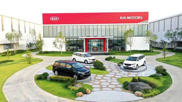 Thaco exporte des premieres voitures touristiques Kia vers la Thailande hinh anh 1