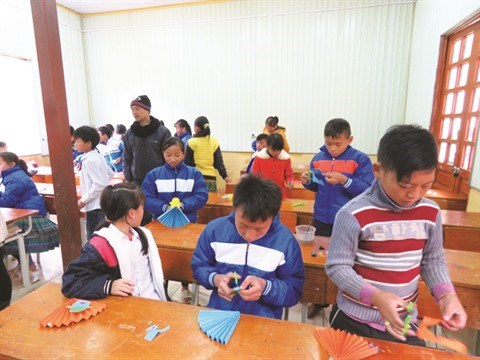 L'art au service des enfants des regions reculees hinh anh 2