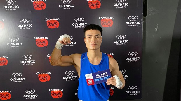 Un boxeur vietnamien qualifie pour les JO 2020 hinh anh 1