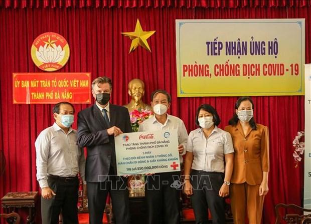 Les dons se multiplient a Da Nang pour soutenir la lutte anticoronavirus hinh anh 1