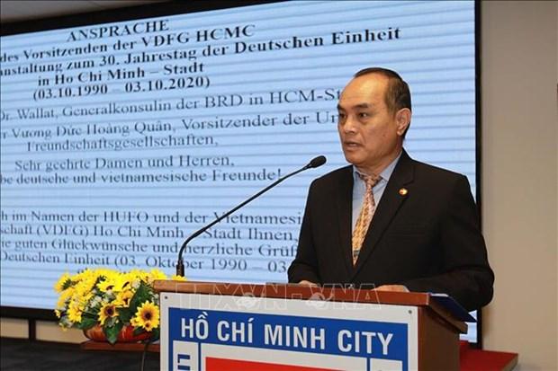 La Journee de l'Unite allemande celebree a Ho Chi Minh-Ville hinh anh 1