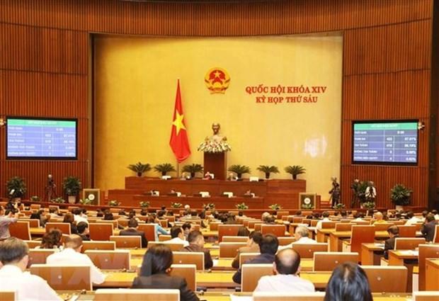 AN : les deputes adopteront deux resolutions et discuteront de quatre projets de loi hinh anh 1