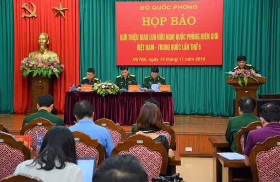 Bientot le 5e echange d'amitie de la defense frontaliere Vietnam - Chine hinh anh 1