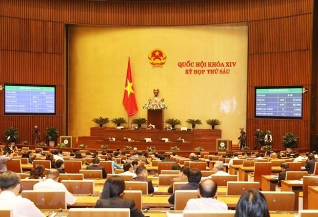 Le 19 novembre, les deputes de l'Assemblee nationale votent cinq lois hinh anh 1