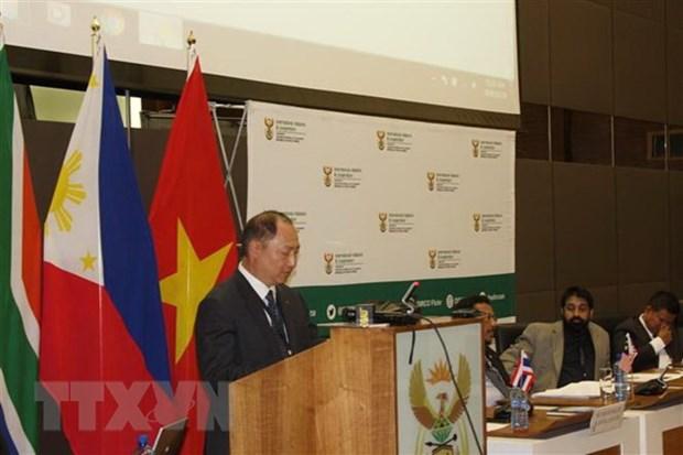 Une nouvelle page dans les liens diplomatiques Vietnam-Afrique du Sud hinh anh 1