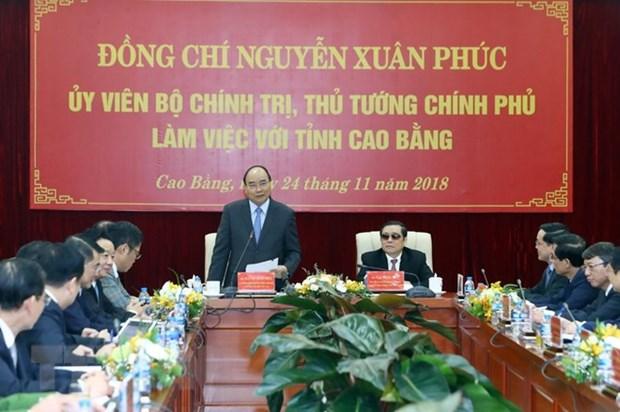 Cao Bang exhortee a profiter de son potentiel pour le developpement socioeconomique hinh anh 1