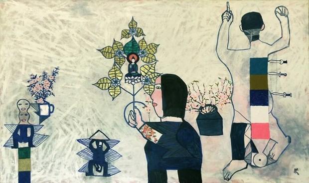 Exposition d'art contemporain Hongrie-Vietnam hinh anh 1