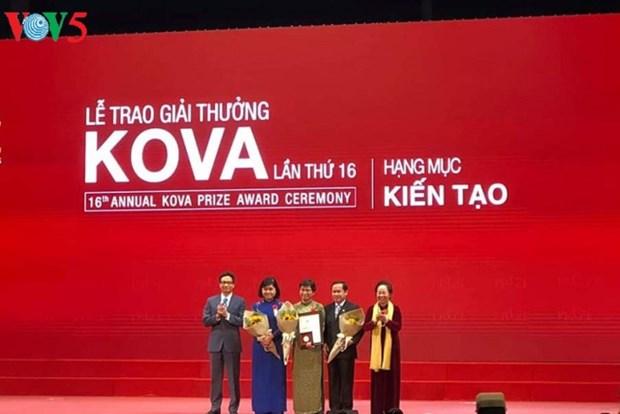 Remise du prix KOVA 2018 aux scientifiques et etudiants exemplaires hinh anh 1