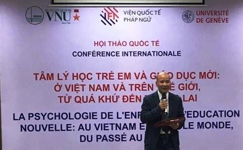 Psychologie de l'enfant et education nouvelle au cœur d'une conference hinh anh 1