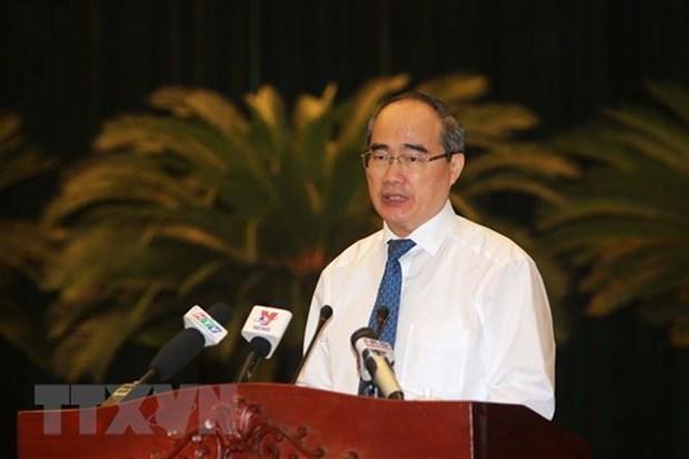 Ho Chi Minh-Ville continue de renforcer le travail d'edification du Parti hinh anh 1
