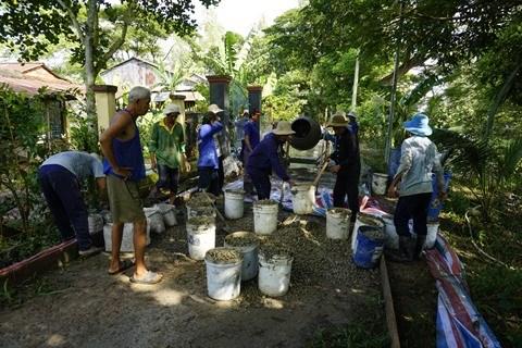 An Giang : Exemple d'une construction via le fonds de solidarite des populations locales hinh anh 1