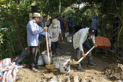 An Giang : Exemple d'une construction via le fonds de solidarite des populations locales hinh anh 2