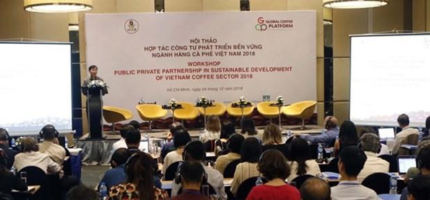 Les PPP sont invites a developper durablement le secteur du cafe hinh anh 1