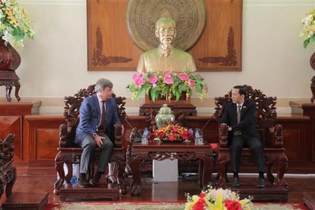 L'Argentine veut promouvoir la cooperation agricole avec Can Tho hinh anh 1