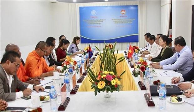 Renforcement des relations de cooperation Vietnam-Cambodge hinh anh 1