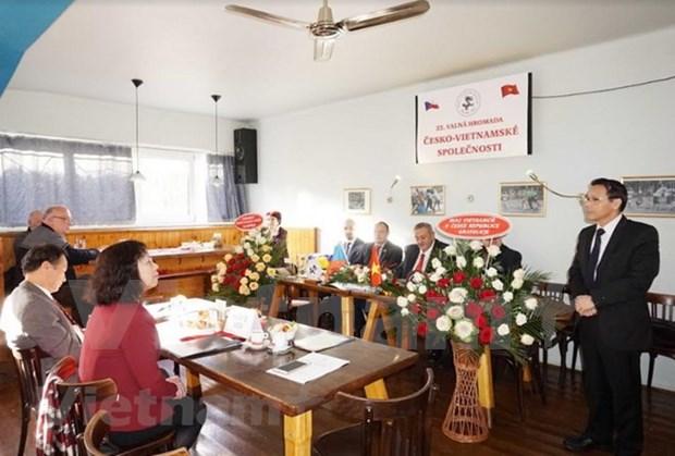 Le 22eme congres de l'Association d'amitie Republique tcheque-Vietnam hinh anh 1